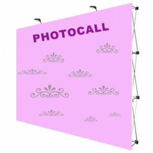 photocall boda con estructura