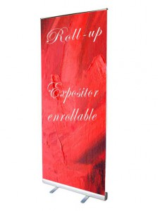 Roll up displays publicitario barato